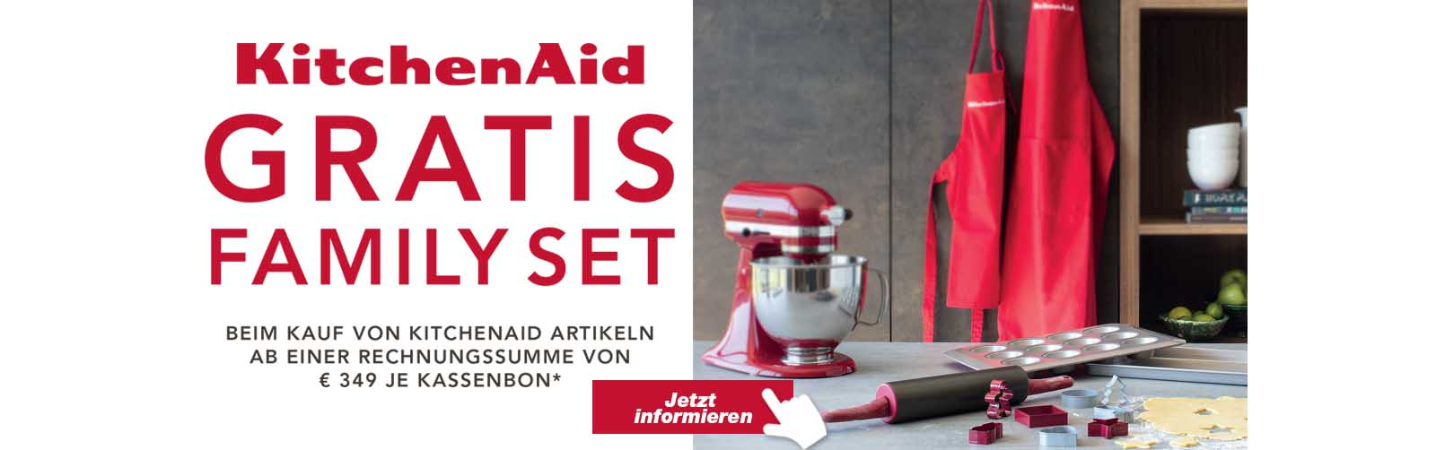 Kitchen Aid Family Set gratis