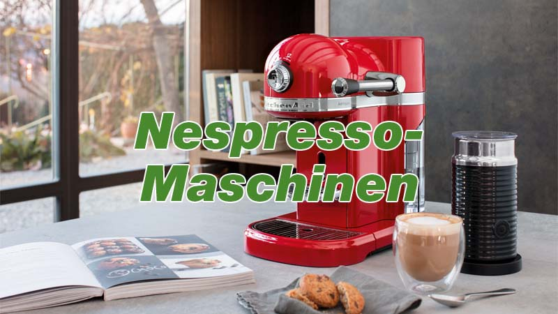 KitchenAid Nespresso Maschinen